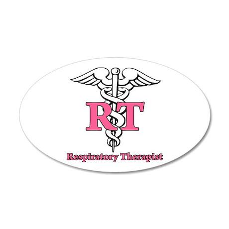Respiratory Therapist 22x14 Oval Wall Peel