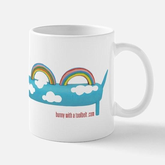Happy Rainbow Doxie Mug