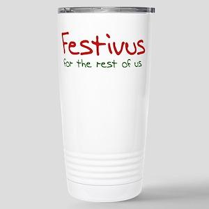 FESTIVUS™ Stainless Steel Travel Mug
