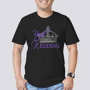Royal Wedding London England Men's Fitted T-Shirt
