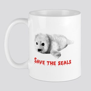 Save the Baby Harp Seals Mug