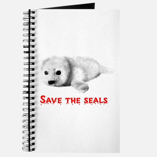 Save the Baby Harp Seals Journal