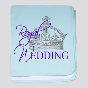 Royal Wedding London England baby blanket