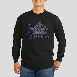 Royal Wedding London England Long Sleeve Dark T-Sh