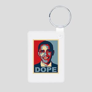 Dope Obama Aluminum Photo Keychain
