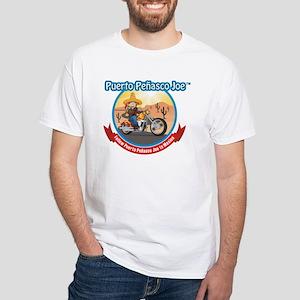 Mexico Biker White T-Shirt