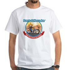 Mexico Biker White T-Shirt