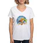 Mexican Parrot Women's V-Neck T-Shirt