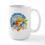Mexico Parrot Large Mug