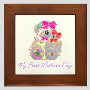 My First Mother's Day (bear) Framed Tile