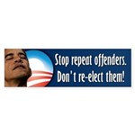 Anti Obama - Election 2012 Sticker (Bumper)