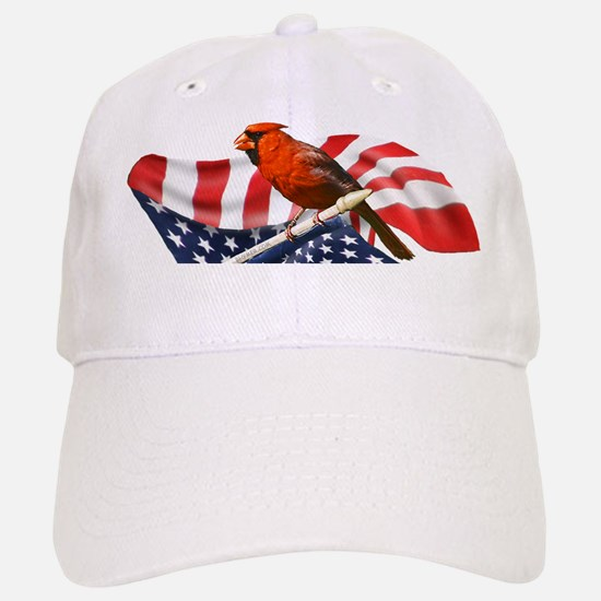 USA Cardinal Baseball Baseball Cap