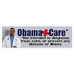 Anti Obamacare Sticker (Bumper)