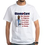 Anti Obamacare White T-Shirt