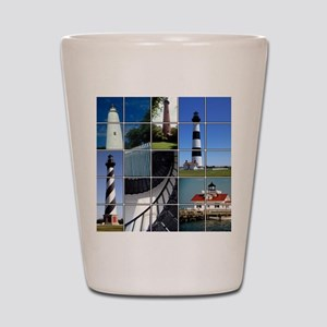 Outer Banks Lighthouses Shot Glass