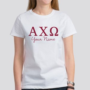 Alpha Chi Omega Pers Women's Classic White T-Shirt
