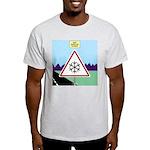 Giant Snowflake Warning Light T-Shirt