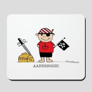 Pirate Boy 1 Mousepad