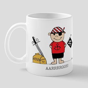 Pirate Boy 1 Mug