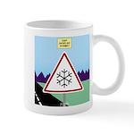 Giant Snowflake Warning 11 oz Ceramic Mug