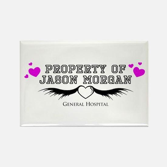 Jason General Hospital Rectangle Magnet