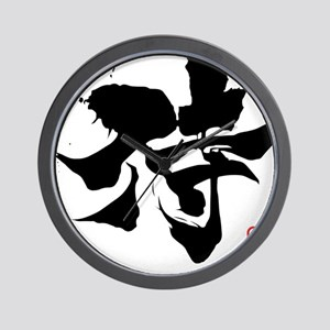 Kanji Samurai Wall Clock
