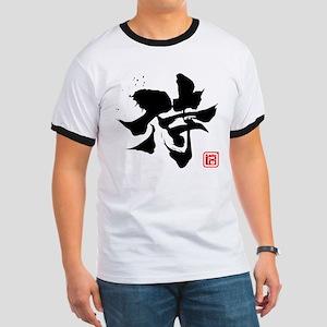Kanji Samurai Ringer T