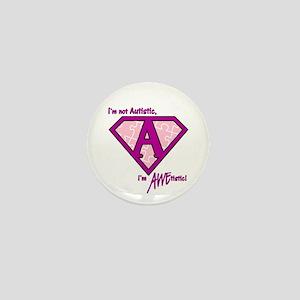 "AWEtistic Princess - 1"" Mini Button"