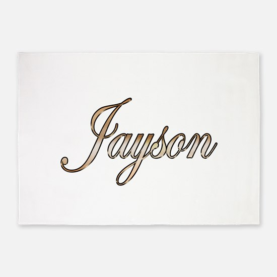 Gold Jayson 5'x7'Area Rug