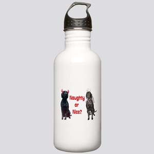 naughty or nice? Stainless Water Bottle 1.0L