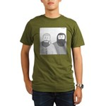 Shawn Adams (no text) Organic Men's T-Shirt (dark)