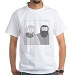 Shawn Adams (no text) White T-Shirt