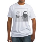 Shawn Adams (no text) Fitted T-Shirt