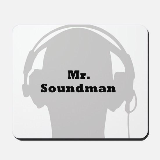 Mr. Soundman Mousepad