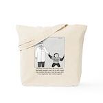 I'm With Stupid Tote Bag