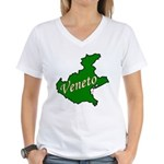 Veneto Women's V-Neck T-Shirt