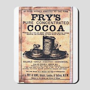 Vintage Fry's Cocoa Ad Mousepad