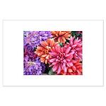 Flower Garden Large Poster