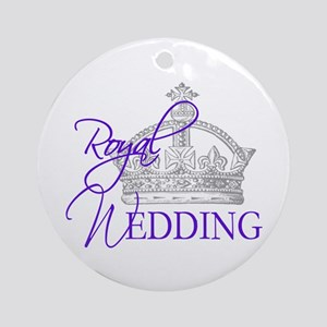 Royal Wedding London England Ornament (Round)