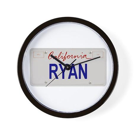 California Ryan Wall Clock