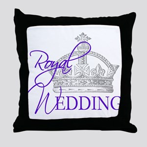 Royal Wedding London England Throw Pillow