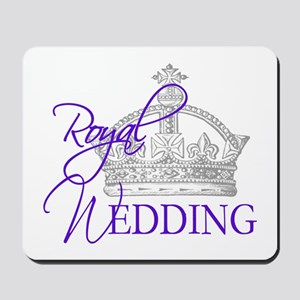 Royal Wedding London England Mousepad