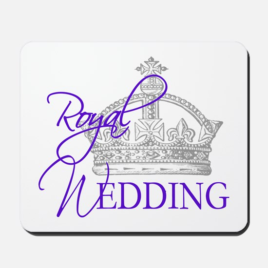 Royal Wedding London England Mousepad