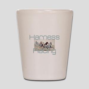 Harness Racing Shot Glass