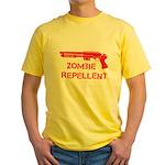 Zombie Repellent Yellow T-Shirt