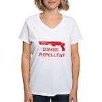 Zombie Repellent Women's V-Neck T-Shirt