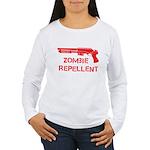 Zombie Repellent Women's Long Sleeve T-Shirt