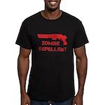 Zombie Repellent Men's Fitted T-Shirt (dark)