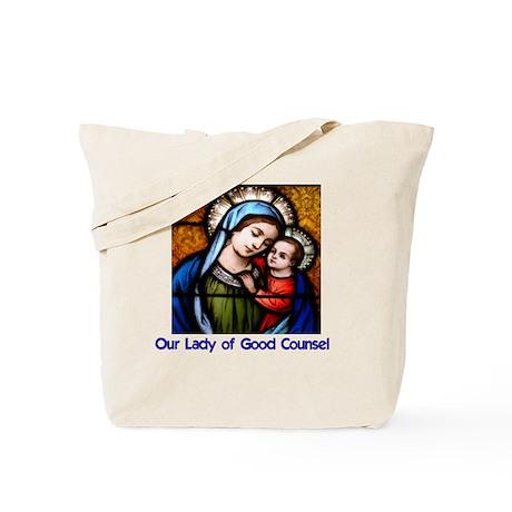 OLGC and St Francis Prayer Tote Bag