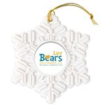 Luv Bears Edutainment Snowflake Ornament